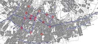 مطالعات ساماندهی حمل و نقل و ترافیک جهرم