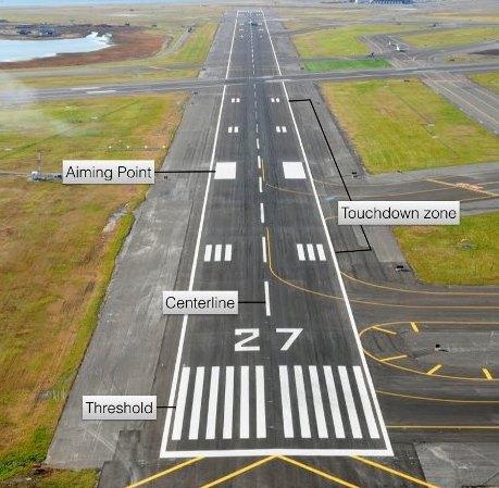 طراحی مسیر رو سازی و بهسازی باند فرودگاهی