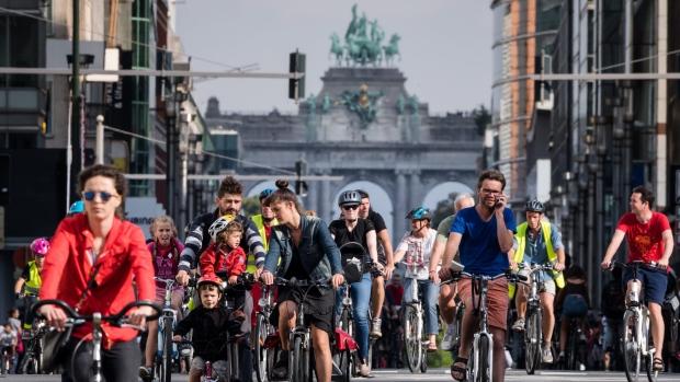 روز بدون خودرو در بروکسل- پایتخت بلژیک