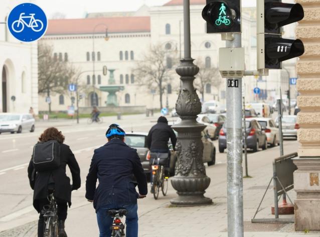 موج سبز برای دوچرخه سواران