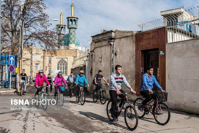ایجاد ۵۵۰ کیلومتر مسیر دوچرخه در تهران تا پنج سال آینده